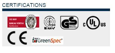 hand dryer Speedflow certifications