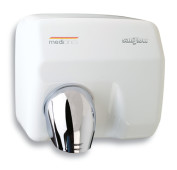 hand dryer saniflow white auto